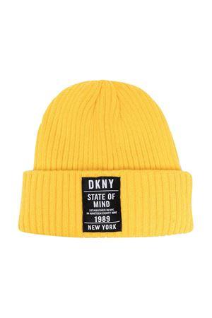 Berretto giallo a coste DKNY KIDS | 75988881 | D31278530