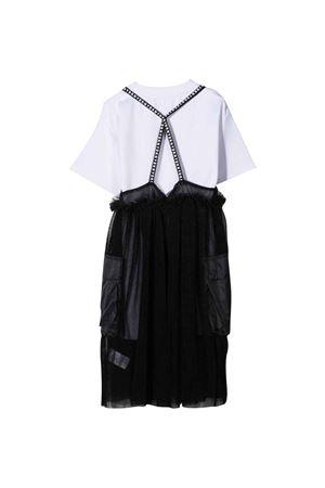 black and white teen dress DKNY KIDS | 11 | D3279809BT