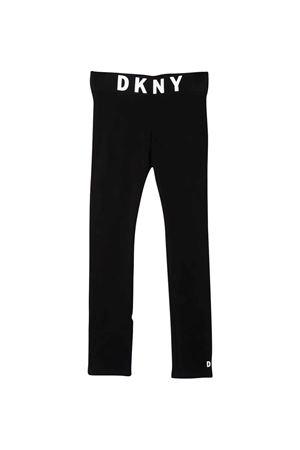 girl black leggins  DKNY KIDS | 411469946 | D34A2709BT