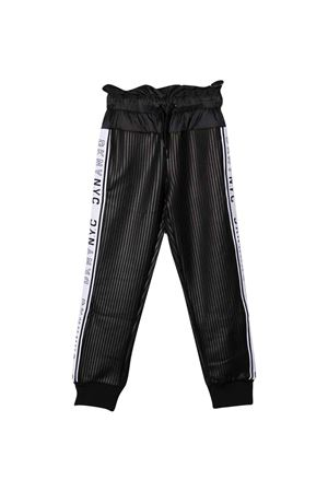 Sports trousers with gathered waist DKNY KIDS | 9 | D34A3109B