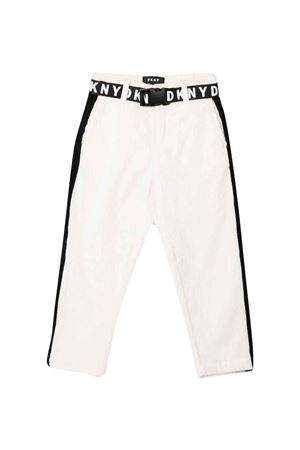 Slim teen ribbed trousers DKNY KIDS | 9 | D34A34117T