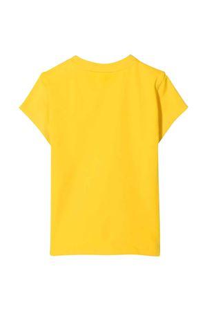 unisex yellow t-shirt  DKNY KIDS | 8 | D35R58530