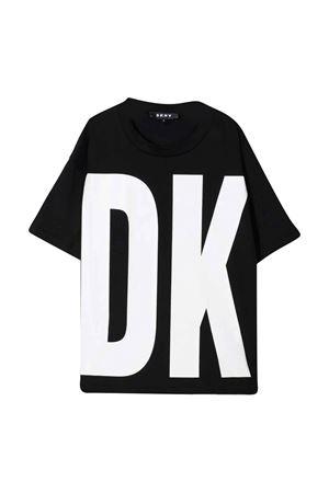 T-shirt teen con stampa DKNY KIDS | 8 | D35R5910BT