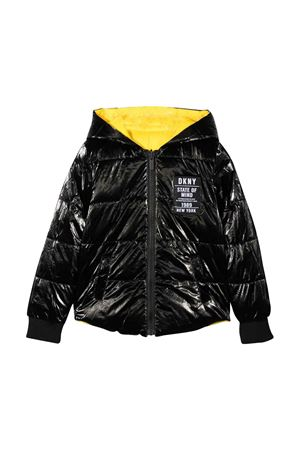 yellow teen down jacket  DKNY KIDS | 783955909 | D36642534T