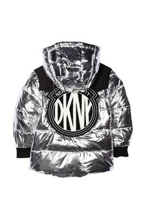 unisex silver down jacket  DKNY KIDS | 783955909 | D36643016
