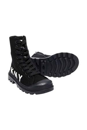 black teen high sneakers DKNY KIDS | 12 | D3906209BT
