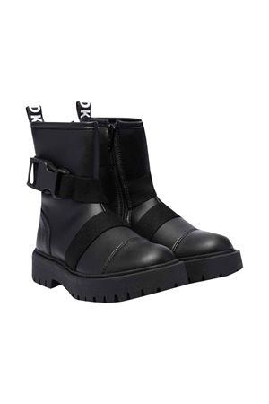 unisex black boots  DKNY KIDS   12   D3906309B