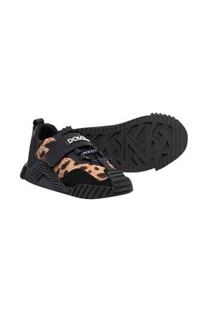 Sneakers with velcro fasteners Dolce & Gabbana kids | 90000020 | D11019AO845HAALM