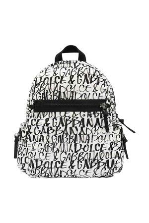 black and white backpack  Dolce & Gabbana kids | 5032345 | EM0082AJ770HARZN