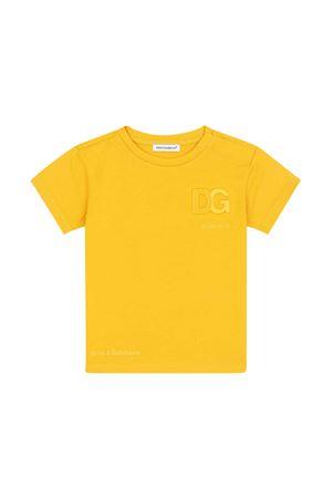 yellow baby t-shirt  Dolce & Gabbana kids | 8 | L1JTDHG7A5ZA0106