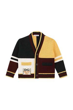 Color block cardigan Dolce & Gabbana kids | 39 | L1KWA6JBVH1S9000