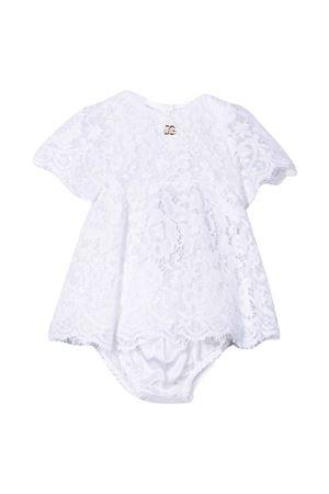 Abito bianco neonata Dolce & Gabbana kids | 11 | L22DG5G7BGGW0800