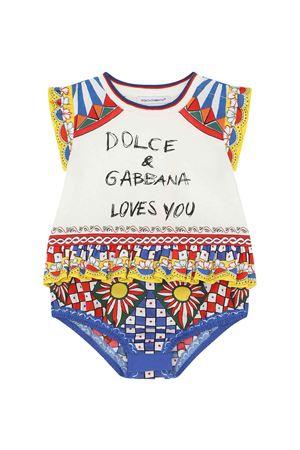 Pagliaccetto neonata fantasia Dolce & Gabbana kids | 42 | L2JOT8G7XLWS9000