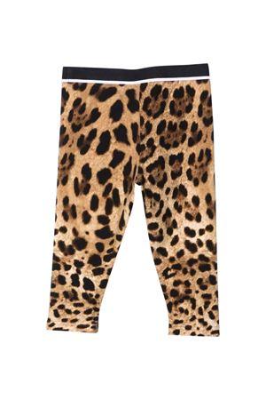 Leggins leopardati neonata Dolce & Gabbana kids | 411469946 | L2JP7YG7JWJHY13M