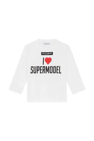 T-shirt neonata Dolce & Gabbana kids | 8 | L2JTAYG7BHCHW3FP