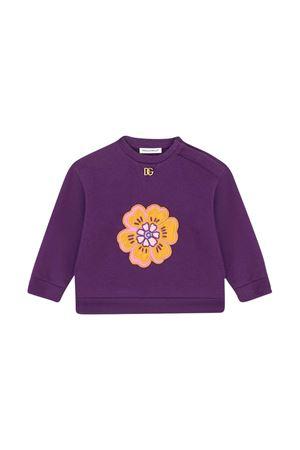 Felpa viola neonata Dolce & Gabbana kids | -108764232 | L2JWN6G7BDQF0373