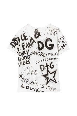 white t-shirt  Dolce & Gabbana kids | 8 | L4JT8AG7BJSW0800
