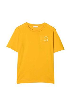 yellow t-shirt  Dolce & Gabbana kids | 8 | L4JTDHG7A5ZA0106