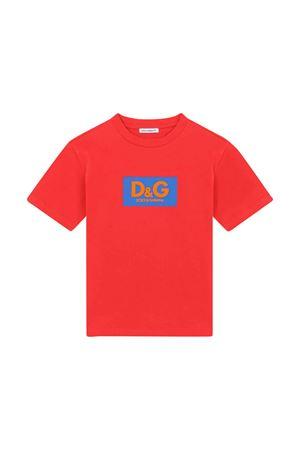 Dolce & Gabbana kids red t-shirt  Dolce & Gabbana kids | 8 | L4JTDMG7A8AHS3AP