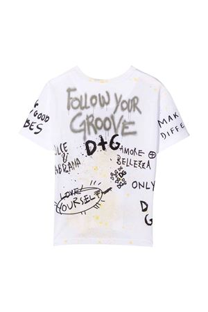 White baby t-shirt  Dolce & Gabbana kids | 8 | L4JTDMG7BJ6HW3HA