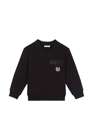 black sweatshirt  Dolce & Gabbana kids | -108764232 | L4JWBLG7BCEN0000