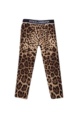 animalier leggings  Dolce & Gabbana kids   9   L51P51G7BIJHY13M