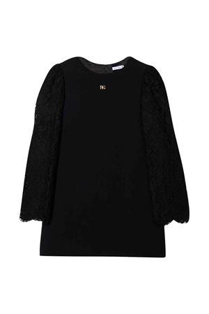 girl black dress  Dolce & Gabbana kids   11   L52DX0G7BGFN0000