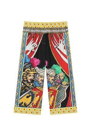 Pantalone fantasia bambina Dolce & Gabbana kids | 9 | L52P15G7WLQHH80D