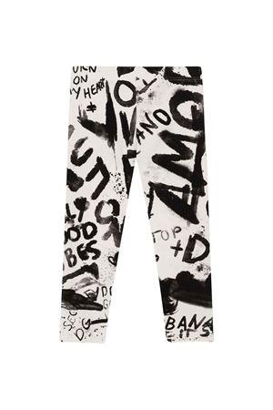 White / black leggings  Dolce & Gabbana kids   411469946   L5JP5BFSGX0HASPN