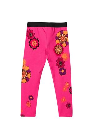 Fuchsia leggins with flower print Dolce & Gabbana kids   411469946   L5JP5BG7BJMHE3BH