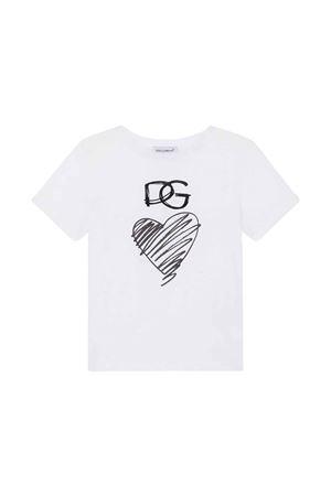 T-shirt bianca bambina Dolce & Gabbana kids | 8 | L5JT9RG7XEBW0800