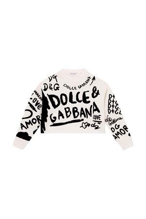 White pull  Dolce & Gabbana kids   -1384759495   L5KWF4JBVK2W0800