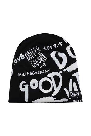 Black hat unisex  Dolce & Gabbana kids | 75988881 | LBJH54G7BJ0N0000