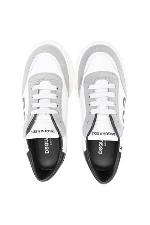 White sneakers unisex   DSQUARED2 KIDS | 90000020 | 685601