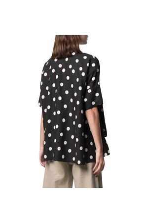 Camicia nera teen a pois DSQUARED2 KIDS | 5032334 | 685651T