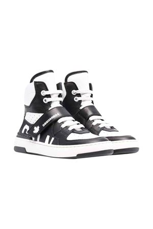 Black sneakers unisex  DSQUARED2 KIDS | 90000020 | 686672