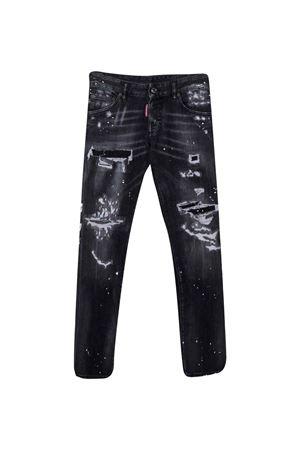 Jeans neri teen DSQUARED2 KIDS | 9 | DQ01Q3D007HDQ02T