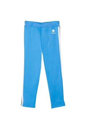 Pantaloni  sportivi bambino azzurri DSQUARED2 KIDS | 9 | DQ0307D003SDQ802