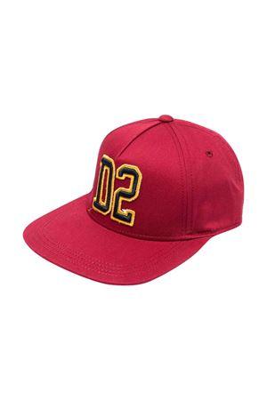 Cappello rosso bambino DSQUARED2 KIDS | 75988881 | DQ0450D00YTDQ400