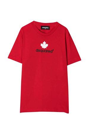 T-shirt rossa unisex DSQUARED2 KIDS | 8 | DQ0515D00MQDQ405