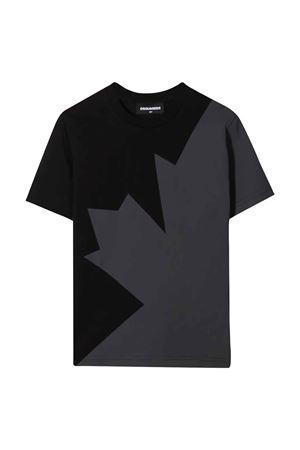 teen t-shirt nera DSQUARED2 KIDS | 8 | DQ0517D00MQDQ900T