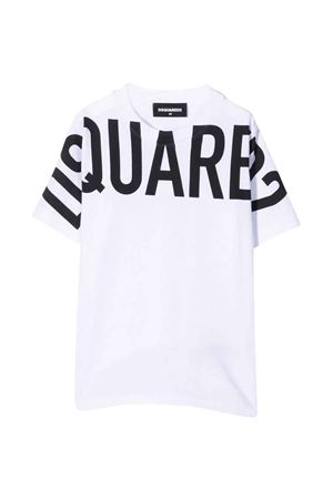 T-shirt bianca unisex DSQUARED2 KIDS | 8 | DQ0526D002FDQ100