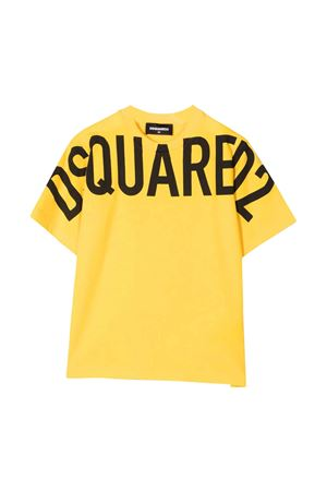 T-shirt gialla DSQUARED2 KIDS | 8 | DQ0526D002FDQ201