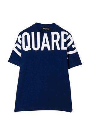 T-shirt blu teen DSQUARED2 KIDS | 8 | DQ0526D002FDQ865T