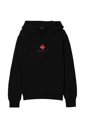 black teen sweatshirt  DSQUARED2 KIDS | 5032280 | DQ0534D00G4DQ900T