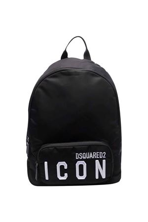 Black backpack  DSQUARED2 KIDS   31   DQ0604D005TDQ900