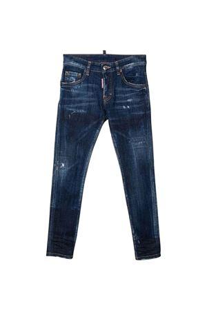 Jeans blu bambino DSQUARED2 KIDS   9   DQ0665D007NDQ01T