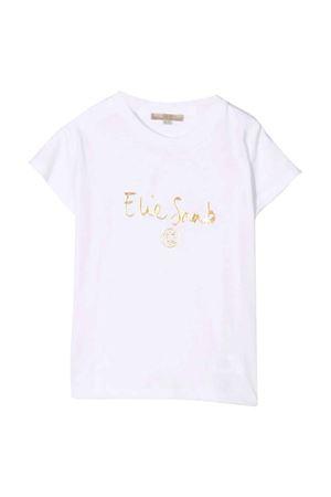 white teen t-shirt  ELIE SAAB JUNIOR | 8 | 3P8021J0004100OR