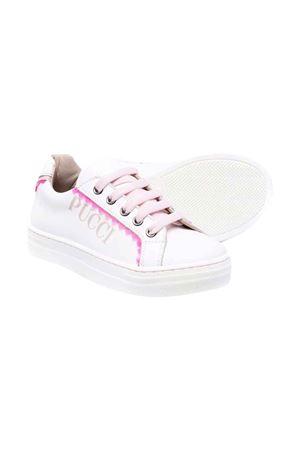 Sneakers con logo EMILIO PUCCI JUNIOR | 12 | 9P0086Y0003100