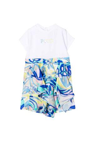 multicolored baby girl dress  EMILIO PUCCI JUNIOR | -1617276553 | 9P1541J0019100